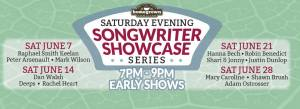 Homegrown songwriter showcase